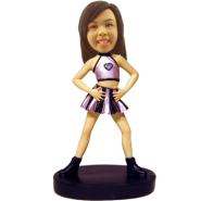 Female Dancer Bobble Head Doll