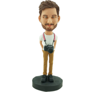 Customised Photographer Bobblehead