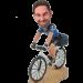 Custom Biker Bobblehead