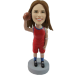Personalized Bobble Head Girl Basketball