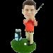Custom golfer bobblehead