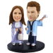 Custom Japanese Couple Bobble Head