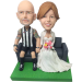 Footy Fan Groom Wedding Bobbles