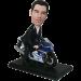 Man on Motorcycle Bobblehead