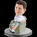 Personalized Bobble Head Casual Man