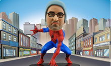 Superhero Bobbleheads